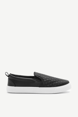 Ardene Quilted Slip-On Sneakers