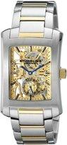 Stuhrling Original Men's 8144C2B.332G131 Classic Gatsby Elite Mechanical Skeleton Tone Dial Watch