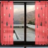 "DEYYA Custom Watermelon Window Sheer Curtain Panels Window Curtain 110""x 55"",Contemporary Vogue Art Window Treatment Panel Collection for Living Room Bedroom Home Decor"