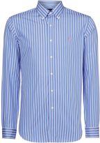 Polo Ralph Lauren Custom Fit Butcher Stripe Long Sleeve Shirt