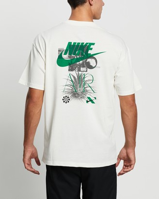 Nike Men's White Printed T-Shirts - M2Z Air Tee - Men's - Size S at The Iconic