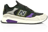 New Balance X-Racer Mesh & Leather Sneakers