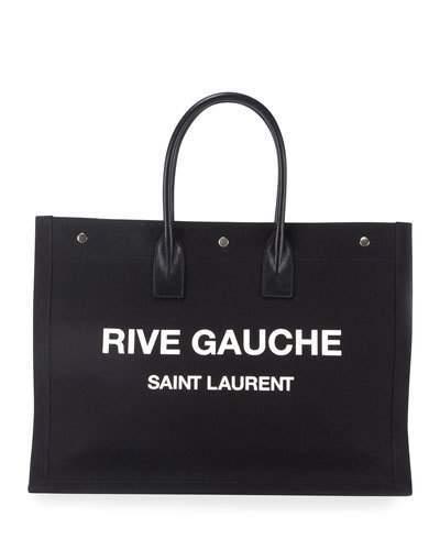 5720cfb1e2 Saint Laurent Canvas Tote Bags - ShopStyle