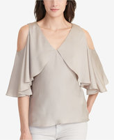 Lauren Ralph Lauren Cold-Shoulder Blouse