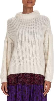 BA&SH Wool-Blend Roll Neck Sweater