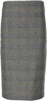 Ermanno Scervino tartan print skirt - women - Spandex/Elastane/Virgin Wool - 42