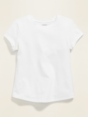 Old Navy Jersey Crew-Neck Tee for Toddler Girls