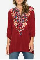 Johnny Was Gemstone Tunic Top