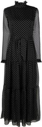 Philosophy di Lorenzo Serafini Semi-Sheer Polka Dot Print Dress