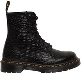 Dr. Martens 30mm Pascal Embossed Croc Leather Boots