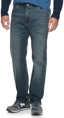 Lee Big & Tall Extreme Motion Relaxed Straight Jeans