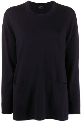 Paul Smith Contrast-Stripe Jumper