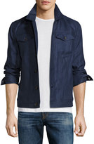 Luciano Barbera Denim Jacket, Navy