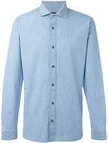 Z Zegna slim-fit denim shirt