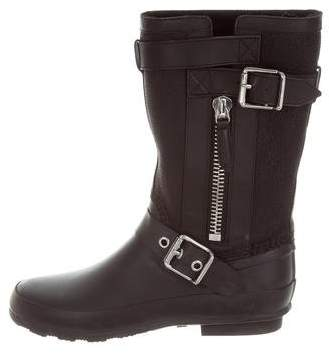 Burberry Mid Buckle Rain Boots