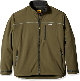 Caterpillar Men's Big Soft Shell Jacket