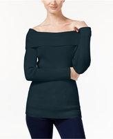 MICHAEL Michael Kors Off-The-Shoulder Sweater