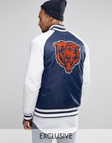 Majestic Chicago Bears Souvenir Jacket Exclusive to ASOS