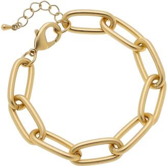 Canvas Jewelry Liv Chain Link Bracelet