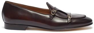 Brera 'Brera' double monk strap leather shoes
