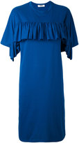 MSGM ruffled T-shirt dress - women - Cotton/Polyester - S