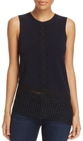 Elie Tahari Lyndi Sleeveless Sweater