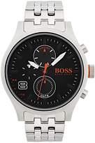 HUGO BOSS Amsterdam Black Multidial Stainless Steel Bracelet Mens Watch