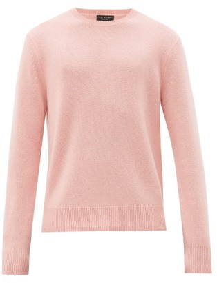 Rag & Bone Haldon Crew-neck Cashmere Sweater - Mens - Pink