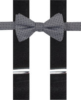 Alfani Men's Ludlow Geo Bow Tie & Suspender Set, Only at Macy's