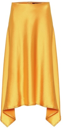 Sies Marjan Darby crinkled-satin skirt