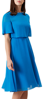 Hobbs Emmeline Dress, Kingfisher Blue