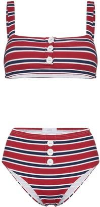 Onia Carolina Sam Striped Bikini