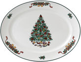 Johnson Bros. Victorian Christmas 13 Oval Serving Platter