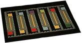 Frank Lloyd Wright Usonian Block Tapestry Placemat SET of FOUR - Black