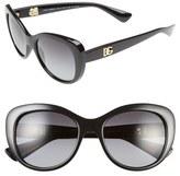 Dolce & Gabbana 'Urban Essential' 54mm Polarized Sunglasses
