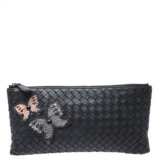 Bottega Veneta Veneta Black Leather Clutch bags