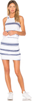 Sundry Navy Stripes Tank Dress
