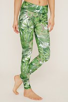 Forever 21 FOREVER 21+ Jala Palm Leaf Active Leggings
