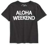 Chaser Boy's Aloha Weekend Graphic T-Shirt
