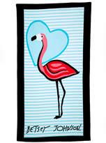Betsey Johnson Solo Flamingo Beach Towel