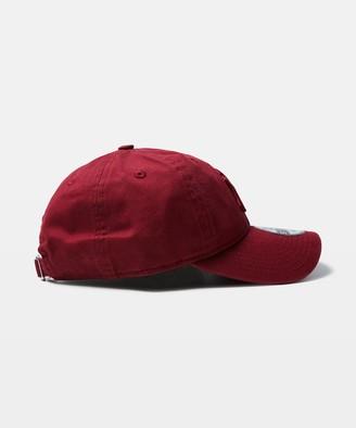 New Era 9Twenty NY Yankees Curvepeak Cap Cardinal Red