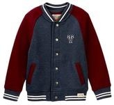 Tailor Vintage Fleece Baseball Jacket (Toddler & Little Boys)