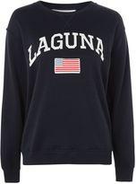 Topshop PETITE Laguna Sloppy Sweatshirt