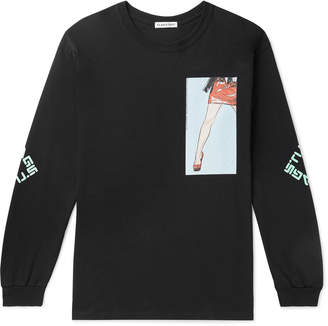 Flagstuff Printed Cotton-Jersey T-Shirt