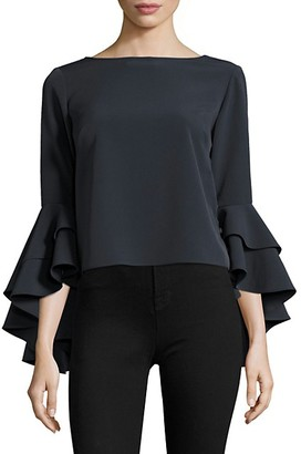 Milly Annie Bell-Sleeve Top