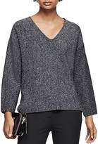 Reiss Julietta Metallic Sweater
