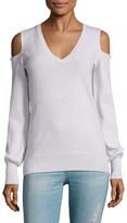 Autumn Cashmere Cashmere Cold Shoulder Sweater