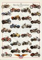 Harley-Davidson Generic Legend Poster Print, 27x39