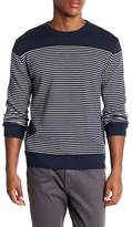 Knowledge Cotton Apparel Striped Knit Sweater