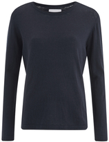 Samsoe & Samsoe Women's Loi O Neck Jumper Total Eclipse